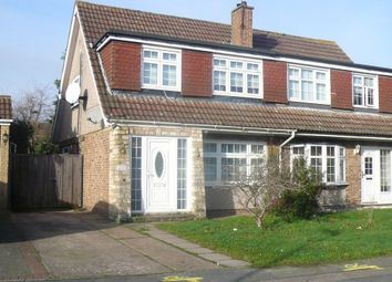Thumbnail 3 bed semi-detached house to rent in Perrysfield Road, Cheshunt