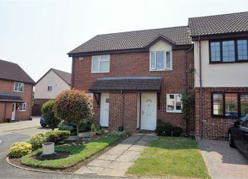 Thumbnail 2 bed terraced house for sale in Aster Close, Northampton
