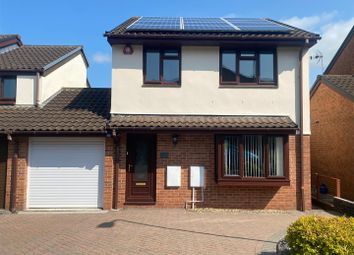 Thumbnail 3 bed link-detached house for sale in Greenwood Park Road, Plympton, Plymouth