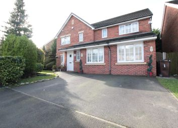 Thumbnail 5 bed detached house for sale in Lightoaks Drive, Halewood, Liverpool, Merseyside