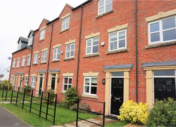 Thumbnail 3 bed town house for sale in Adamson Close, Warrington