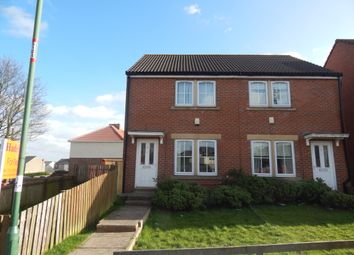 Thumbnail 3 bedroom semi-detached house to rent in The Ridings, Catchgate, Stanley