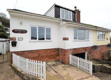 Thumbnail 3 bed semi-detached bungalow for sale in Southdown Avenue, Brixham, Devon