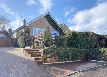 Thumbnail 4 bed detached bungalow for sale in Scott Close, Ravensthorpe, Northampton