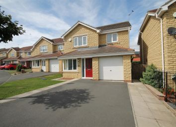 Thumbnail 4 bed detached house for sale in Oakfields, Hunwick, Crook