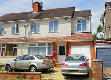 Thumbnail 4 bed semi-detached house for sale in Beverley Crescent, The Headlands, Northampton