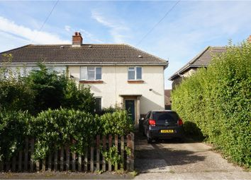 Thumbnail 3 bed semi-detached house for sale in Elm Grove, Cowes