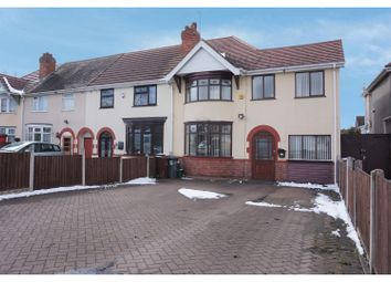 Thumbnail 4 bed end terrace house for sale in Stubby Lane, Wednesfield, Wolverhampton