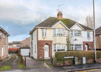 Thumbnail 3 bedroom semi-detached house for sale in Liswerry Road, Newport
