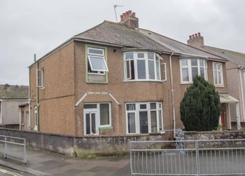 Thumbnail 1 bed flat for sale in Pemros Road, St. Budeaux, Plymouth