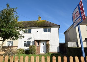 Thumbnail 3 bed semi-detached house to rent in Porthkerry Road, Rhoose, Barry