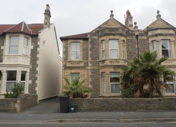 Thumbnail 2 bed flat to rent in Walliscote Rd, Weston-Super-Mare, North Somerset