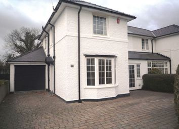 Thumbnail 4 bed semi-detached house to rent in Westward Rise, Barry