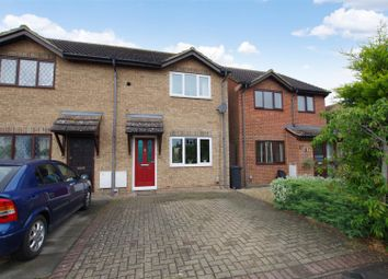 Thumbnail 2 bed semi-detached house for sale in Evergreen Close, Stratton, Swindon