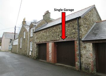 Thumbnail Property for sale in Single Garage, Kensington Street, Fishguard, Pembrokeshire