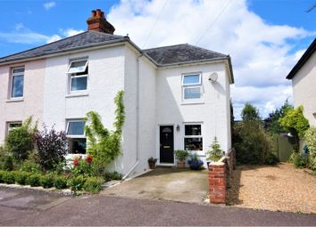 Thumbnail 5 bed semi-detached house for sale in Gifford Road, Bosham