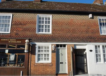 Thumbnail 2 bed terraced house for sale in High Street, Tonbridge