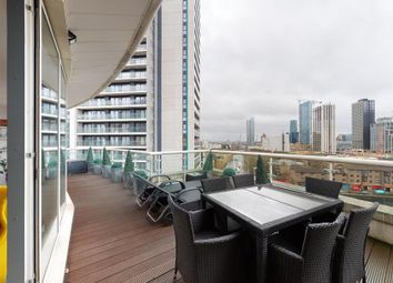 Thumbnail 3 bed flat for sale in Lumina Building, London