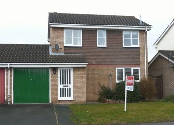 Thumbnail 3 bed link-detached house for sale in Kempton Avenue, Hereford