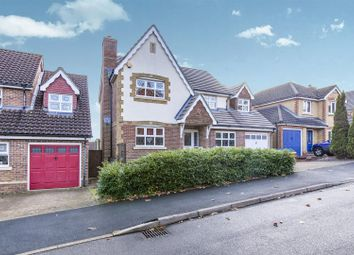 Thumbnail 5 bed detached house for sale in Strathcona Gardens, Knaphill, Woking