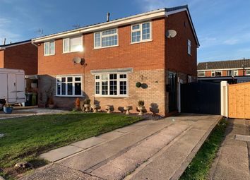 Thumbnail 3 bed semi-detached house for sale in Glenthorne Close, Stafford