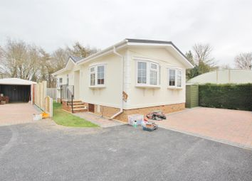 Thumbnail 2 bed mobile/park home for sale in Stour Park, Northbourne, Bournemouth