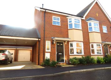 Thumbnail 3 bed semi-detached house for sale in Stony Grove, Costessey, Norwich