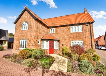 Thumbnail 4 bed detached house for sale in Wheeler Crescent, Easton, Norwich