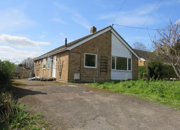 Thumbnail 3 bed bungalow for sale in Oates Lane, Sutton, Ely, Cambridgeshire