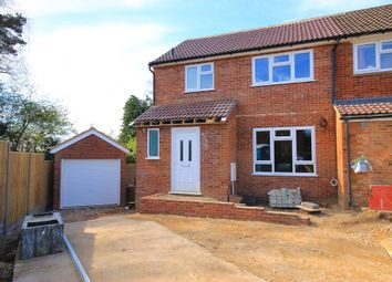 Thumbnail 3 bed end terrace house to rent in Middlemoor Road, Frimley, Camberley