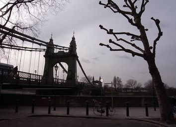 Thumbnail 1 bed flat to rent in Hammersmith Bridge Road, London