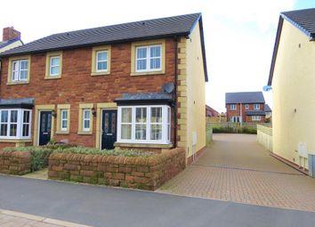 Thumbnail 3 bed semi-detached house for sale in Clarendon Drive, Whitehaven, Cumbria