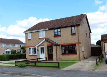 Thumbnail 3 bed semi-detached house for sale in Swallow Drive, Louth