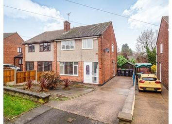 Thumbnail 3 bed semi-detached house for sale in Coniston Road, Hucknall, Nottingham