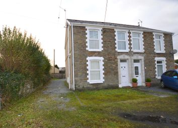 Thumbnail 2 bed semi-detached house for sale in Bank Road, Llangennech, Llanelli
