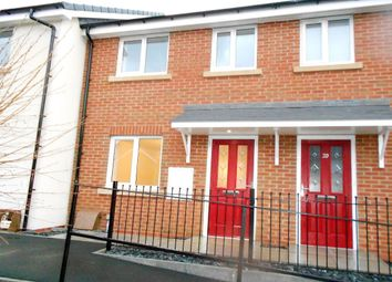 Thumbnail 3 bedroom terraced house to rent in Darby Road, Brynteg, Wrexham