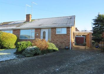 Thumbnail 3 bed semi-detached bungalow for sale in Shelley Drive, Higham Ferrers, Rushden