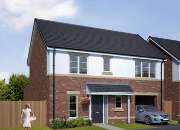 "Thumbnail 4 bed detached house for sale in ""The Hanbury"" at Browney Lane, Browney, Durham"