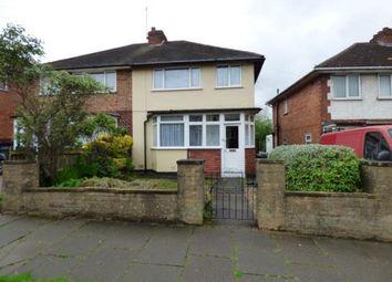 Thumbnail 3 bedroom semi-detached house for sale in Sladepool Farm Road, Birmingham, West Midlands
