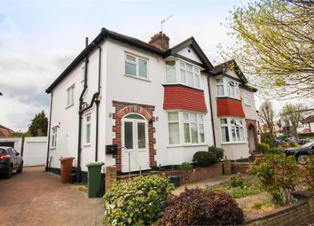 Thumbnail 3 bed semi-detached house to rent in Iberian Avenue, Wallington, Surrey