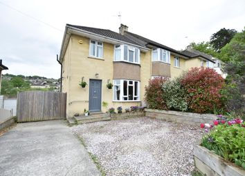 Thumbnail 4 bed semi-detached house for sale in Frys Leaze, Bath, Somerset