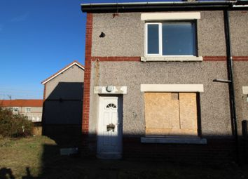 Thumbnail 2 bedroom end terrace house for sale in Dawdon Crescent, Seaham, County Durham