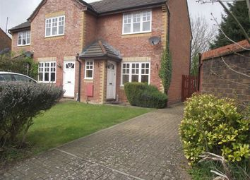 Thumbnail 2 bed end terrace house to rent in Dunsford Close, Swindon, Wilts