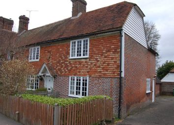 Thumbnail 2 bed semi-detached house to rent in Laurel Cottages, Benenden, Kent