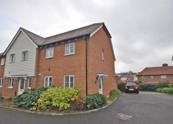 The Spinners, Burfield Valley, Hailsham BN27. 2 bed end terrace house for sale