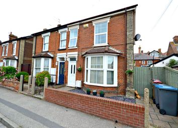 Thumbnail 3 bed semi-detached house for sale in Highfield Road, Felixstowe, Suffolk
