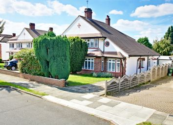 Thumbnail 3 bed semi-detached house for sale in Braundton Avenue, Sidcup