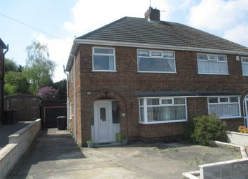 Thumbnail 3 bed semi-detached house for sale in Beauvale Rise, Eastwood, Nottingham
