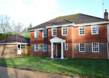Thumbnail 5 bed detached house for sale in Attenborough Close, Fleet, Hampshire