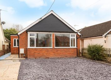 Thumbnail 4 bedroom bungalow for sale in Grazeley Road, Three Mile Cross